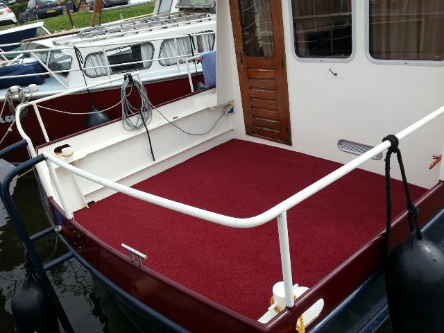 Buitentapijt Wellness rood boot