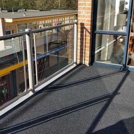 Remix grijs gemeleerd balkon 1