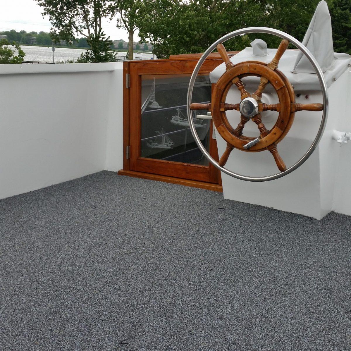Buitentapijt Remix grijs gemeleerd boot