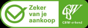 CBW erkend logo