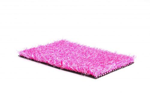 Gekleurd kunstgras Trendy roze