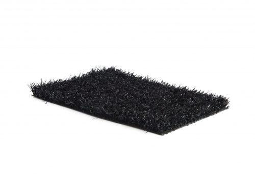 Gekleurd kunstgras Trendy zwart