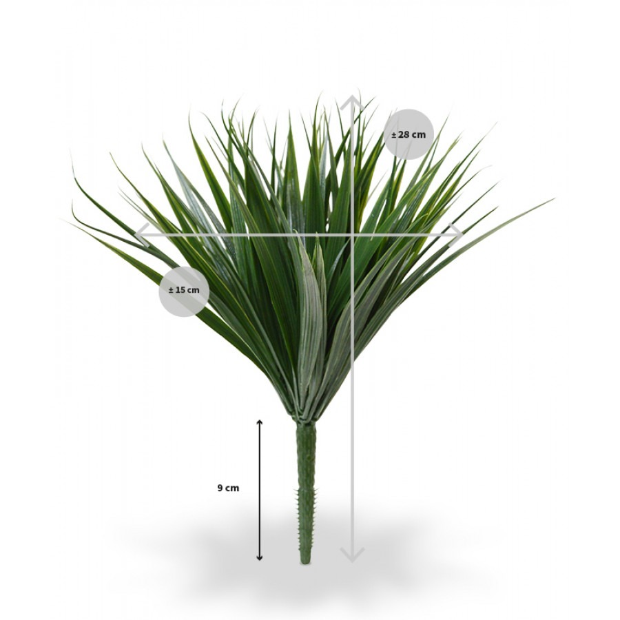 kunst bamboegras afmetingen