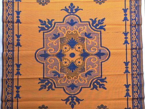 Buitenkleed kunststof afrika oranje