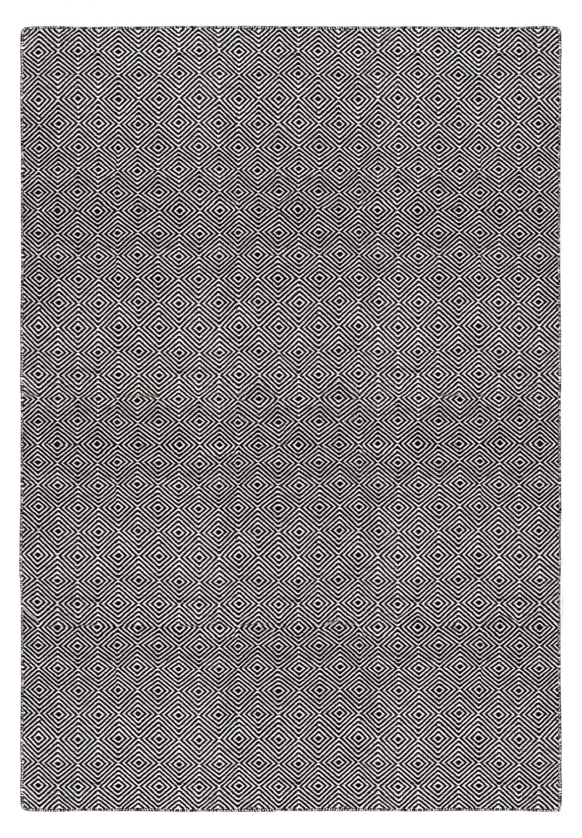 Luxe buitenkleed design 10 zwart wit