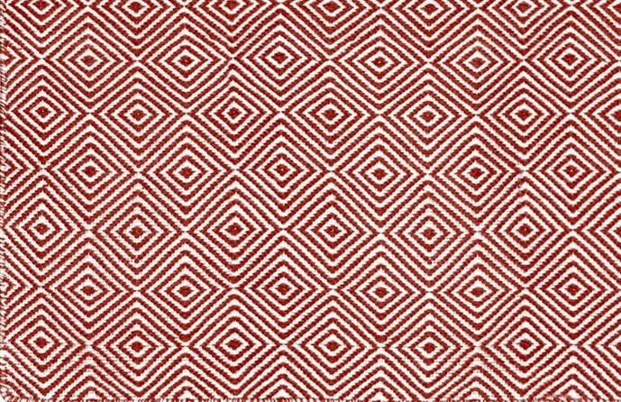 Diamond rood 2 - Luxe Buitenkleden Green Label - design 10