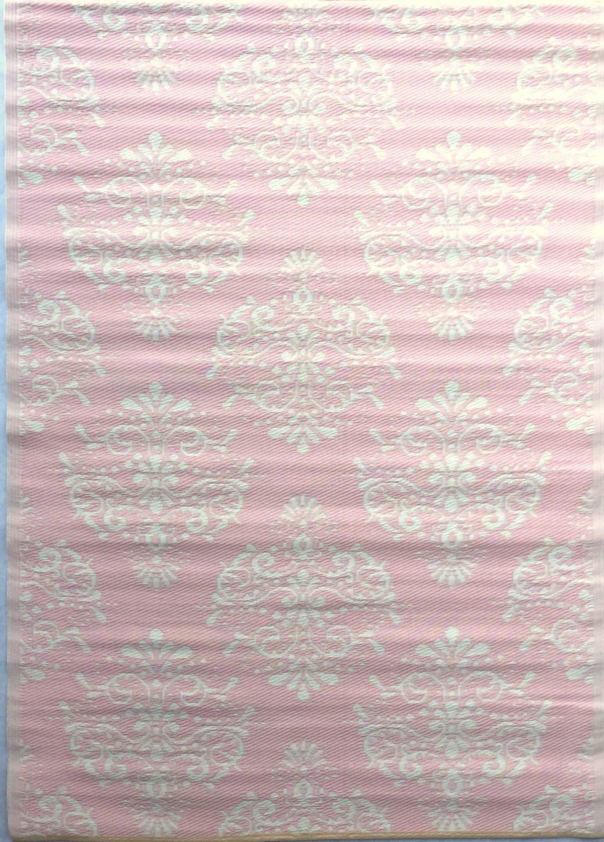Plastic buitentapijt zambia roze 2
