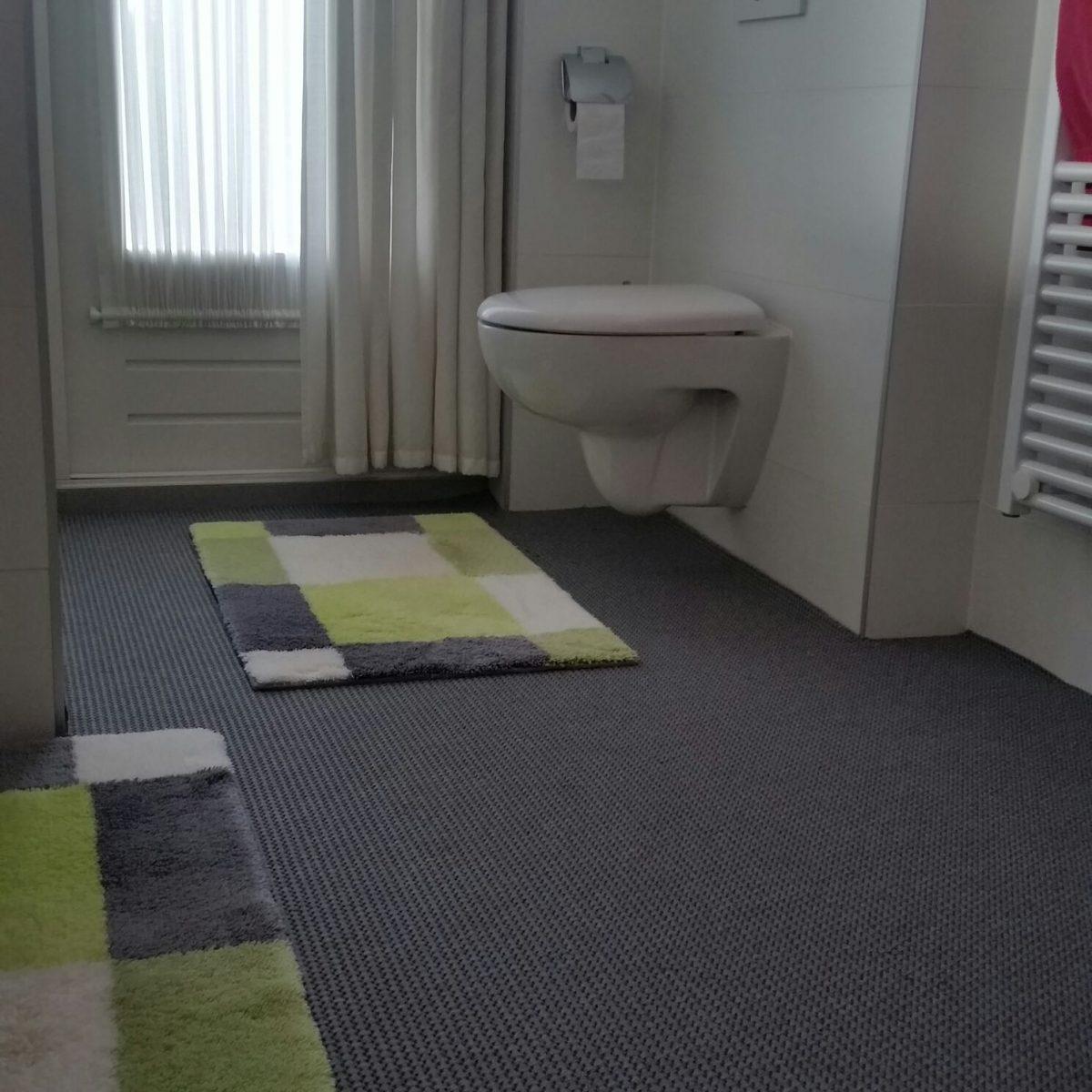 Badkamer tapijt antraciet