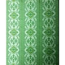 Buitenkleed kunststof brocante groen
