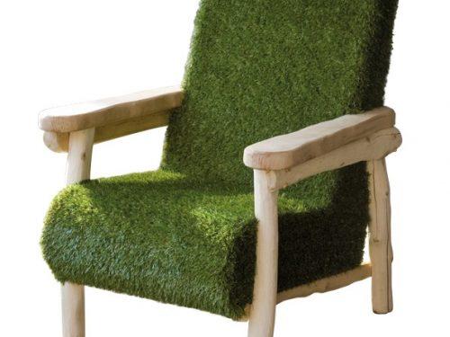 Grasstoel rustiek