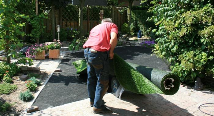 kunstgras aanleggen - Kunstgras aanleggen