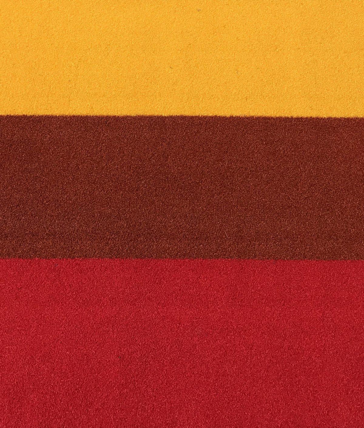 buitentapijt rood/terra/geel