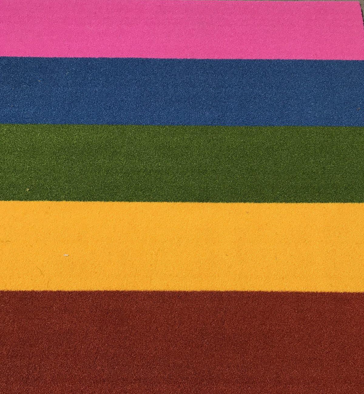 buitentapijt-terra/geel/groen/blauw/roze