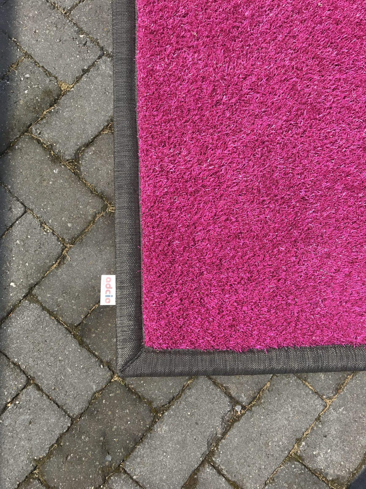 Showroom model – Graskleed – roze – 200x300cm foto 2