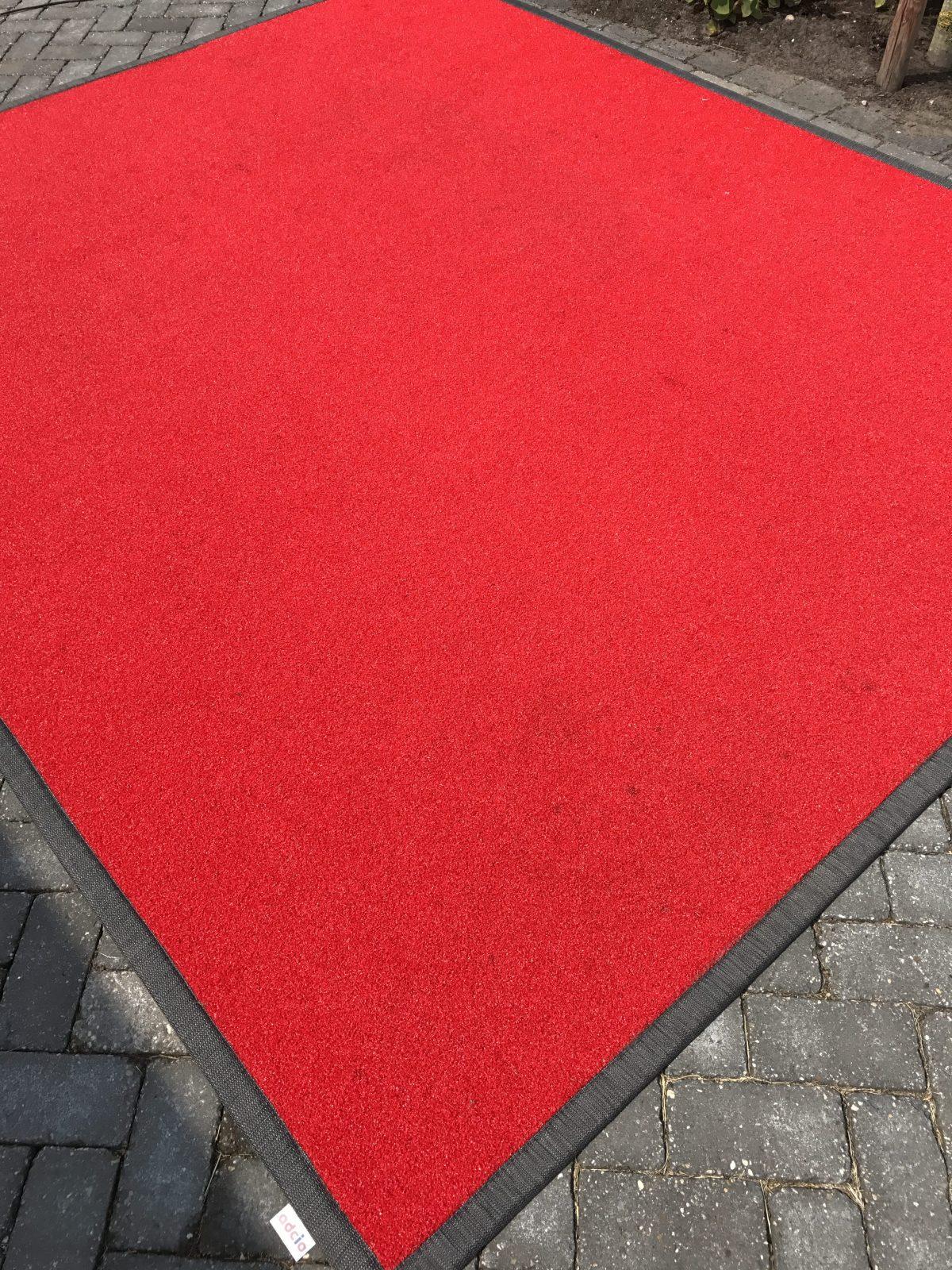 Buitenkleed remix rood foto 2