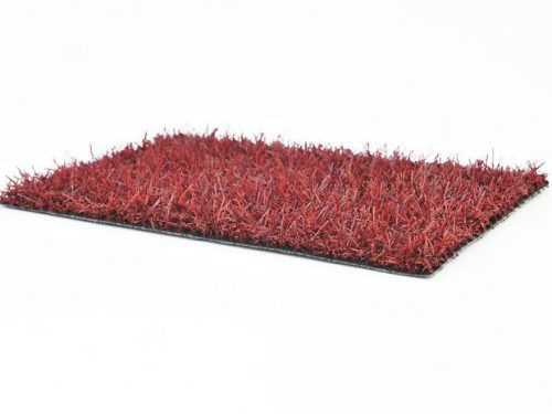 Gekleurd kunstgras bordeaux rood